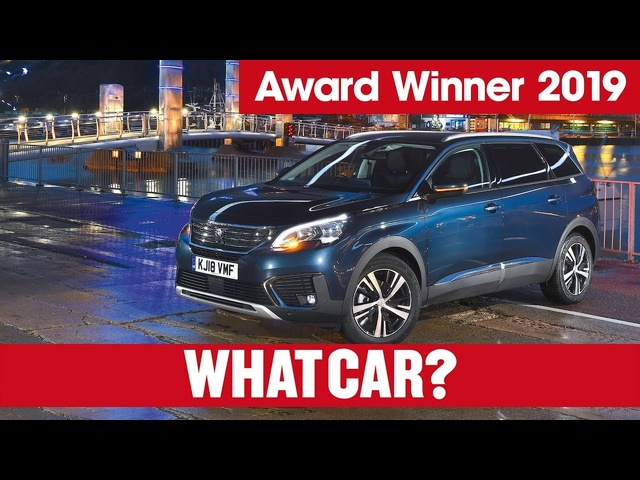 Peugeot 5008 – why it's our 2019 Large SUV of the Year | What Car? | Sponsored