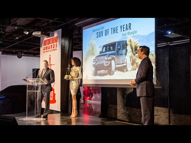 2019 Motor Trend Awards Show from Petersen Automotive Museum!