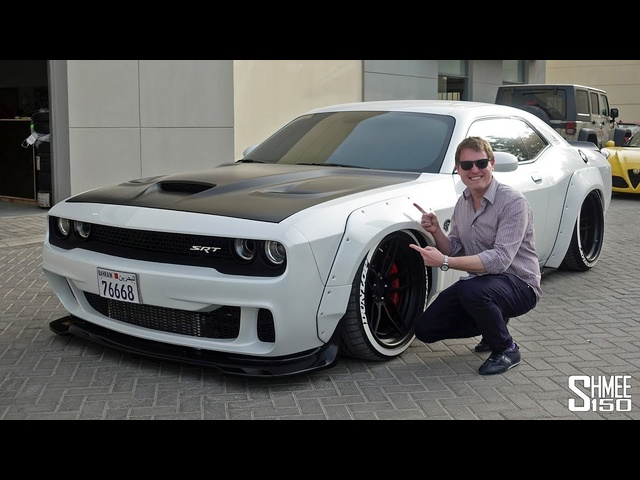 Meet the Craziest 1000hp HELLCAT 'Snowcat'!