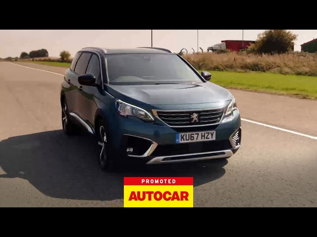 Promoted | PEUGEOT 5008 SUV: Space | Autocar