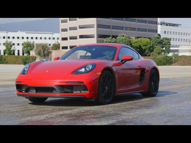 Tire Rack's Hot Lap | 2018 Porsche Cayman GTS
