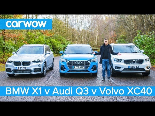 <em>Audi</em> Q3 vs BMW X1 vs Volvo XC40 - which is the best posh small SUV?