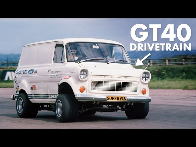 Ford Transit Van With A GT40 Engine: History Of The Supervans | Carfection +