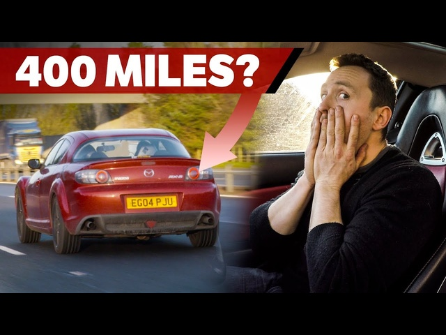 Can A <em>Mazda</em> RX-8 Achieve Over 400 Miles On One Tank?