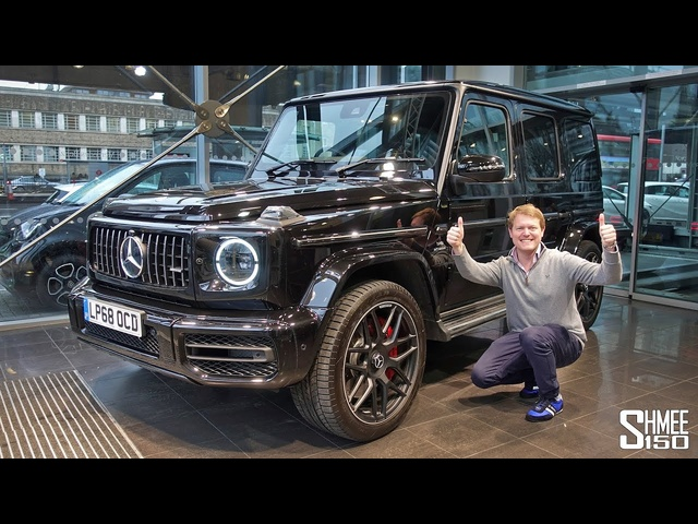 I've ORDERED a Mercedes-AMG G63!