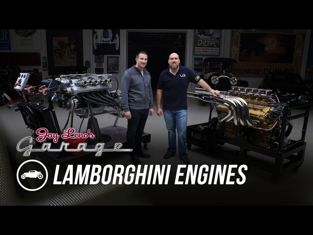 <em>Lamborghini</em> Engines: 350 GT and 8 Liter Marine - Jay Leno's Garage