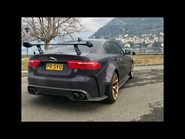 <em>Jaguar</em> XE SV Project 8 1000ml trip to Modena via German Autobahn