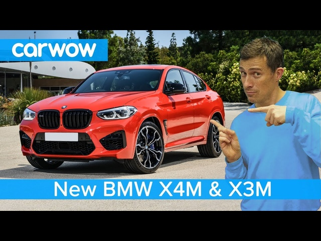 New BMW X4M and X3M 2019 - are they worthy of the new M3's engine?