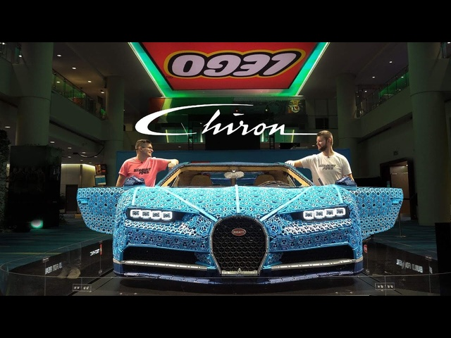 LEGO Technic Bugatti Chiron Review - Full Size and IT DRIVES!