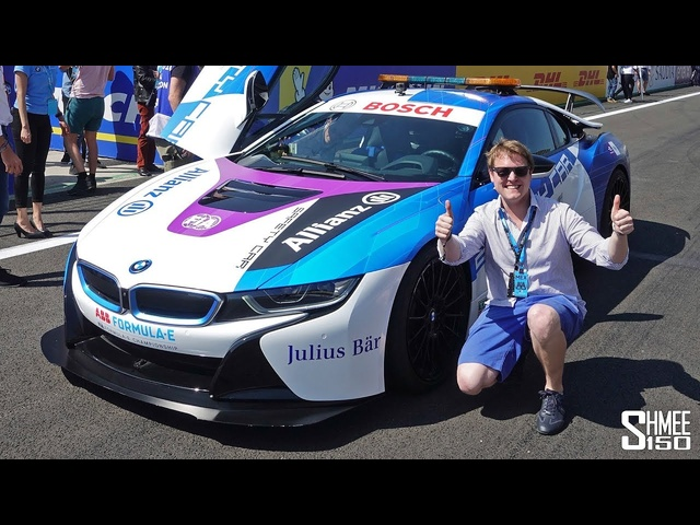 Modified BMW i8 Leads the Formula E in Mexico!
