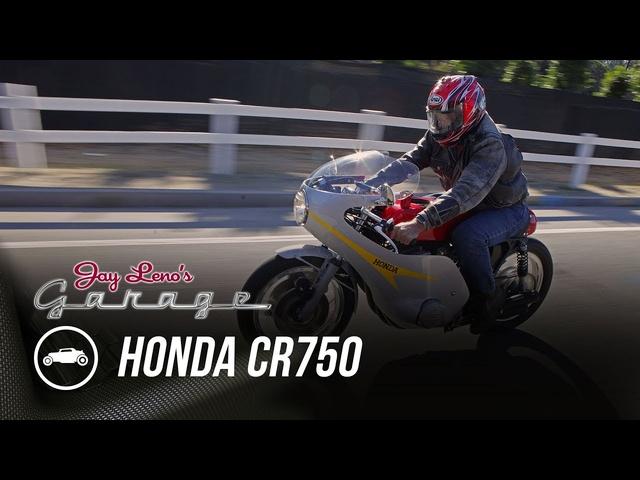 1973 Honda CR750 -Jay Leno's Garage