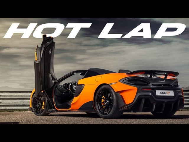 McLaren 600LT Spider: Hot Lap With Kenny Bräck | Carfection