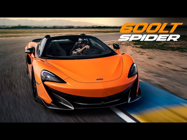 McLaren 600LT Spider: First Driving Impressions | Carfection +