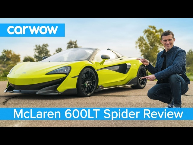 McLaren 600LT Spider 2020 FULL review - and see why it's great for toasting marshmallows!