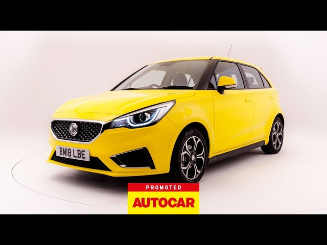 Promoted | MG3: Under The Spotlight | Autocar