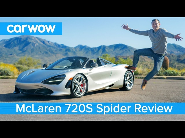 McLaren 720S Spider 2019 review - see why it's the ULTIMATE convertible supercar!