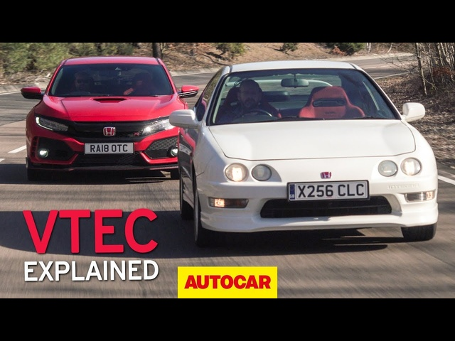 Honda Integra Type R meets 2019 Civic Type R | VTEC explained | Autocar Heroes