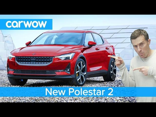 <em>Volvo</em>'s Tesla Model 3 revealed -the stunning Polestar 2 EV