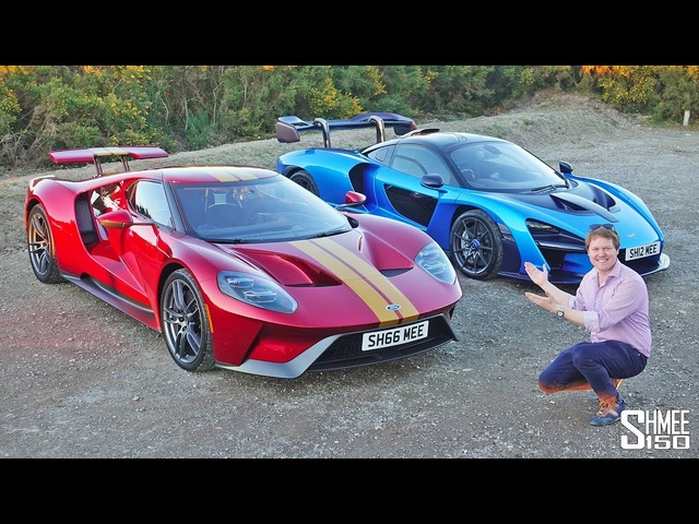 MY FIRST DUO DRIVE: Senna and Ford GT