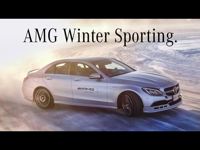 ICEKHANA - Drifting 600hp Mercedes-AMG's on a Frozen Lake