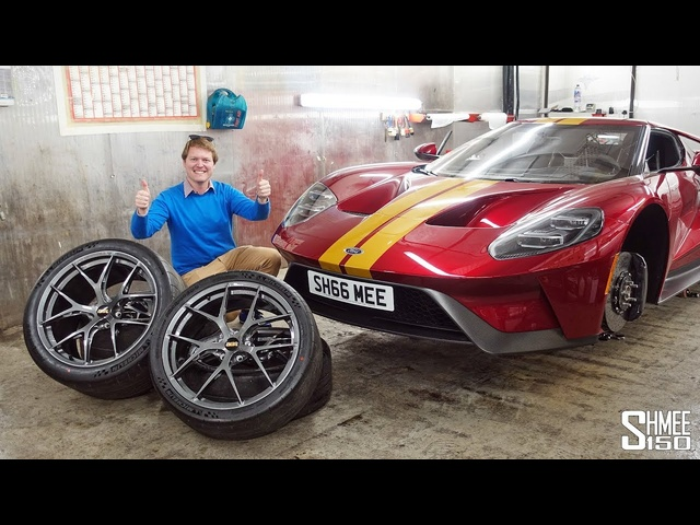 My Ford GT Has New BBS Wheels!