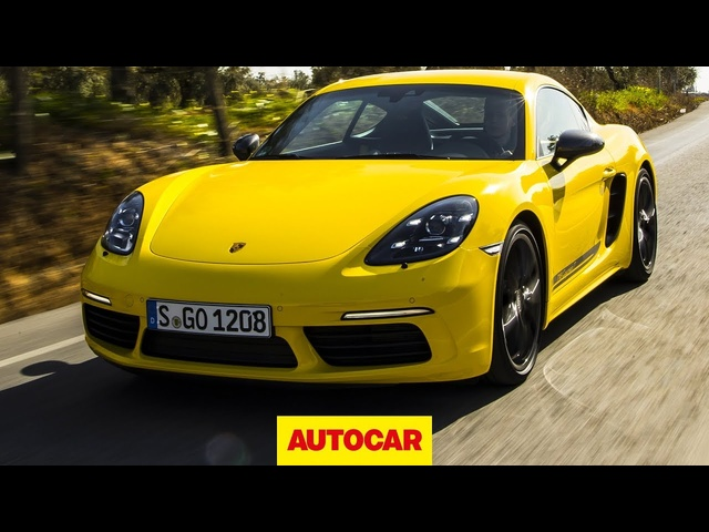 2019 Porsche 718 Cayman T driven | Is this the best value Cayman? | Autocar