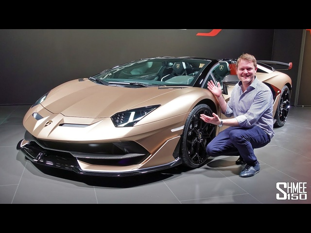 The <em>Lamborghini</em> Aventador SVJ Roadster is HERE! | FIRST LOOK