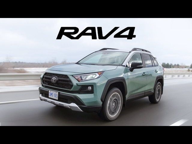 2019 Toyota Rav4 Review -New and Improved