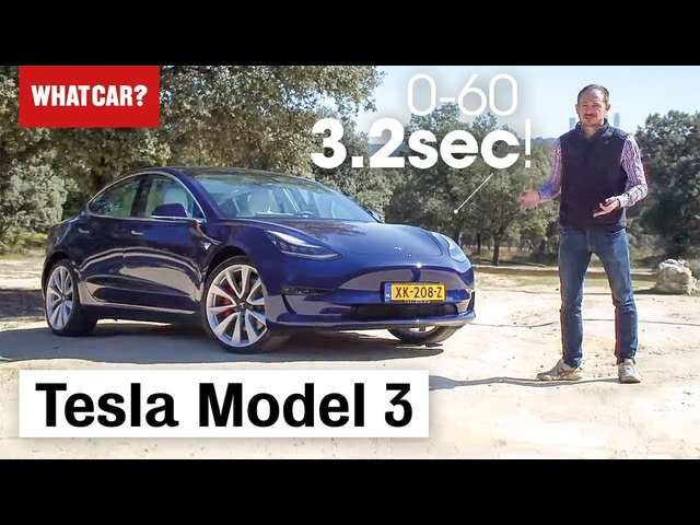 2019 <em>Tesla</em> Model 3 review – Exclusive European road test | What Car?