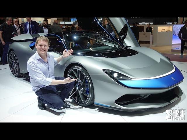 The €2m Pininfarina Battista HYPER-EV is aGame Changer! | FIRST LOOK
