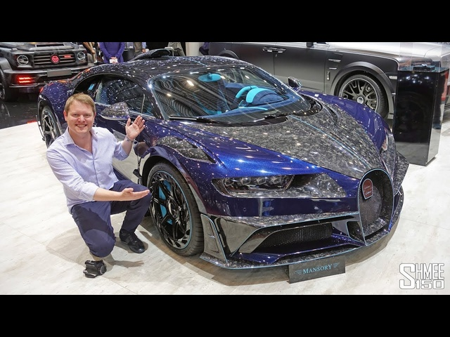 The CRAZIEST Bugatti Chiron EVER! Mansory Centuria | FIRST LOOK