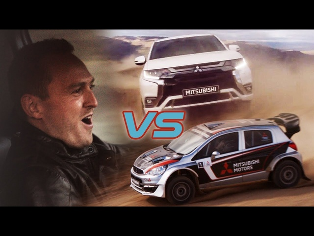 Mitsubishi PHEV Vs Rally Car: The Ultimate Race Advert