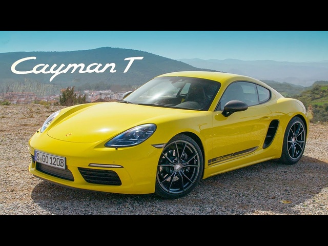 NEW Porsche 718 Cayman T: Road Review | Carfection 4K