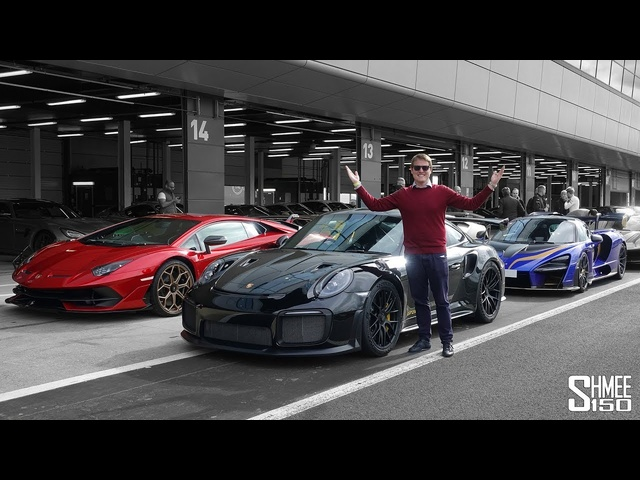 SENNA vs AVENTADOR SVJ vs GT2 RS -Silverstone Track Test!