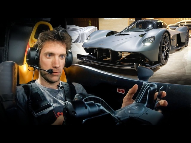 Aston Martin Valkyrie: First Sim Drive | Carfection