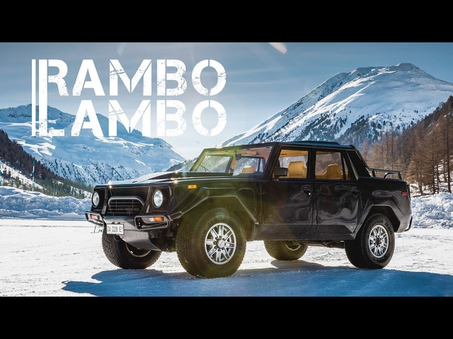 Lamborghini LM002: The V12 Rambo Lambo | Carfection 4K