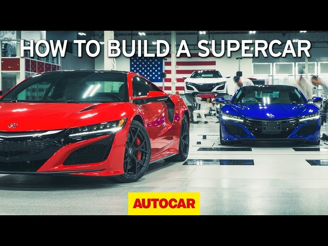 How to build a supercar | <em>Honda</em> NSX factory tour | Autocar