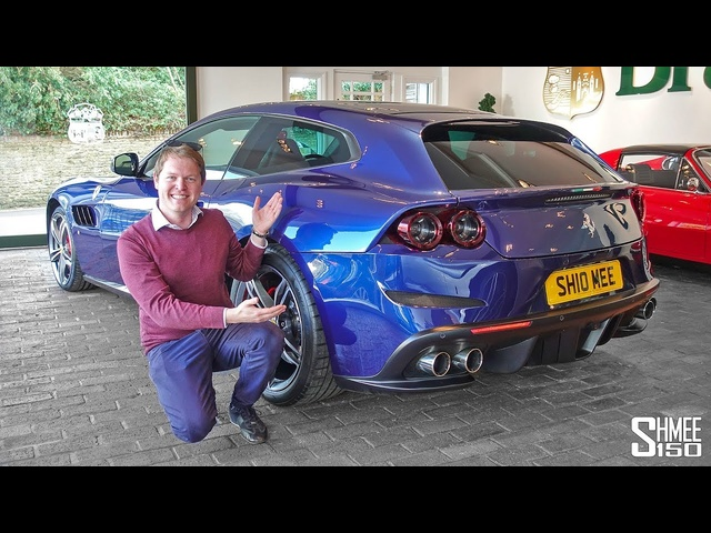 I BOUGHT A FERRARI! Collecting My New GTC4Lusso V12