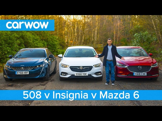<em>Peugeot</em> 508 v Mazda 6 v Insignia Grand Sport - which is the best large family car?