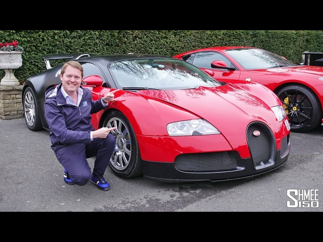 My Drive in the Legendary BUGATTI VEYRON!
