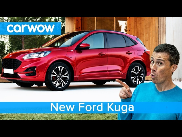 New Ford Kuga SUV 2020 - see why it should be better than a VW Tiguan and <em>Peugeot</em> 3008.