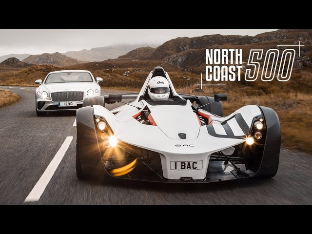 BAC Mono & <em>Bentley</em> Continental GT on Britain's Best Road | Carfection 4K
