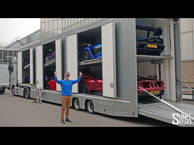 6 of My Cars in 1 Big Truck!