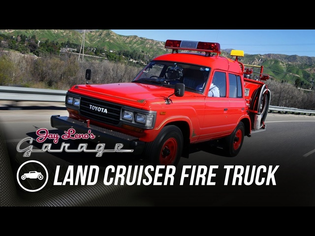 1989 Land Cruiser Fire Truck -Jay Leno's Garage