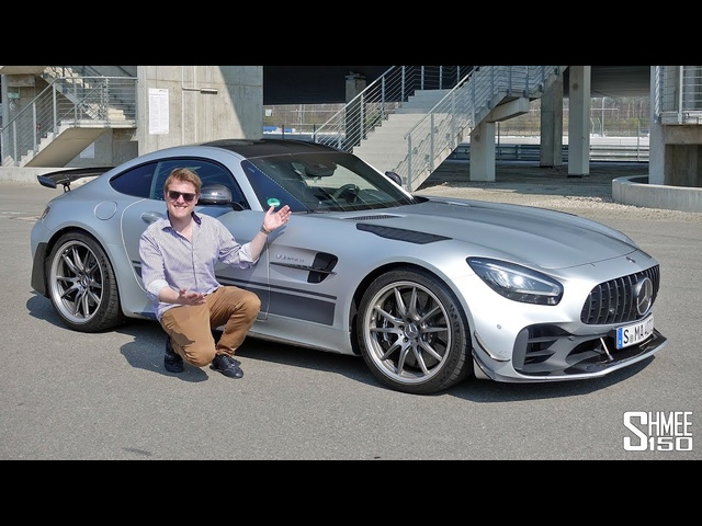 My First Drive in the AMG GT R Pro!
