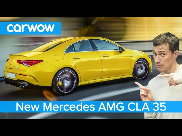 New Mercedes-AMG CLA 35 2020 - is it worth the extra £££ over the A35 hatch or saloon?