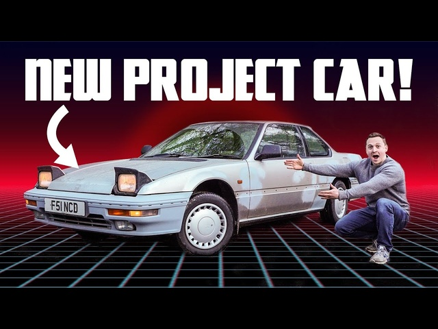 I Bought This Forgotten 80s Honda For Under £1000!