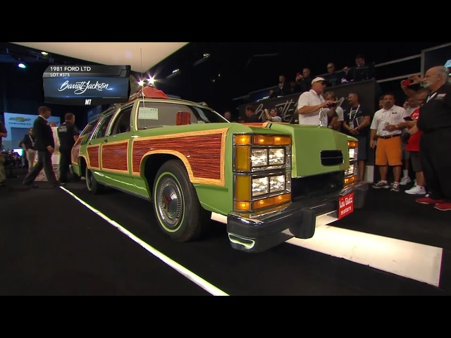 The Family Truckster at Barrett-Jackson!