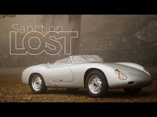 Porsche 356 Carrera Speedster Zagato: Sanction Lost