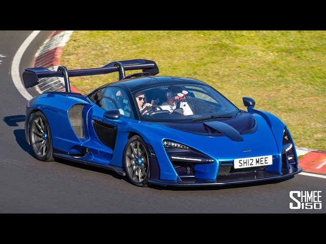 The FIRST McLaren Senna EVER on the Nurburgring!